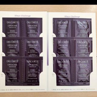 COSME DECORTE - コスメデコルテ  リポソーム アドバンスト リペアセラム 12包