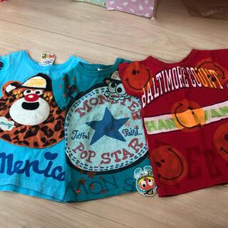 ジャム(JAM)ののん様限定JAM、Gotham★Tシャツ3枚セット90(Tシャツ/カットソー)