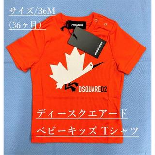 ディースクエアード(DSQUARED2)のディースクエアード/ベビーTシャツ01A/サイズ-36M(=36ヶ月)新品タグ付(Tシャツ/カットソー)