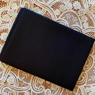 ブラックダブルガーゼ国産✴︎幅広❤︎マスク製作に❤︎