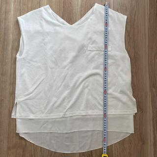 ジーナシス(JEANASIS)のジーナシス 2way Tシャツ(シャツ/ブラウス(半袖/袖なし))
