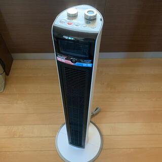 コイズミ 送風機能付き ファンヒーター KHF-1271/W(電気ヒーター)