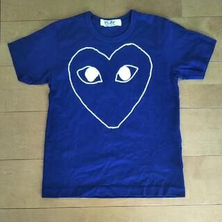 コムデギャルソン(COMME des GARCONS)のPLAY/コムデギャルソン/ネイビーTシャツ(Tシャツ(半袖/袖なし))