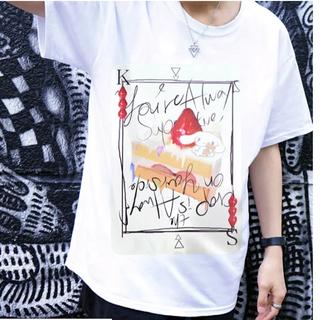 ミルクボーイ(MILKBOY)のシナモロール × KINGLYMASKコラボTシャツ原宿 キングリーマスク (Tシャツ/カットソー(半袖/袖なし))