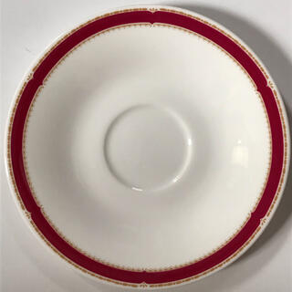 NIKKO - 未使用 ニッコー ボーンチャイナ ソーサー 皿 赤ライン