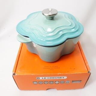 LE CREUSET - LE CREUSET ココットフルール クールミント