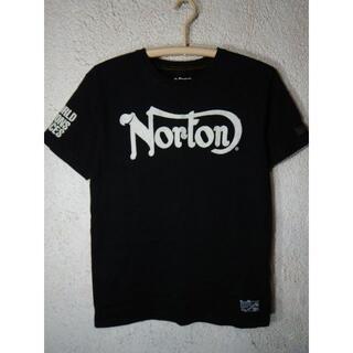 Norton - o3366 Norton ノートン 刺繍 プリント デザイン tシャツ バイカー