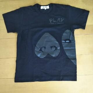 コムデギャルソン(COMME des GARCONS)のPLAY/コムデギャルソン/Lサイズ黒シャツ(Tシャツ(半袖/袖なし))