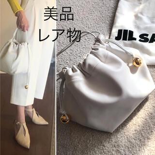 Jil Sander - 表参道参道店購入 3回短時間使用美品 ジルサンダー ドローストリングバッグ 白