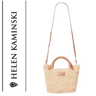 ヘレンカミンスキー(HELEN KAMINSKI)のHELEN KAMINSKI  ヘレンカミンスキー ショルダーバッグ  新品 (かごバッグ/ストローバッグ)