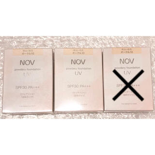 NOV - NOV パウダリー ファンデーション UV オークル10 ×2