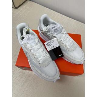 23.5 Nike x sacai LDV Waffle ホワイト(スニーカー)