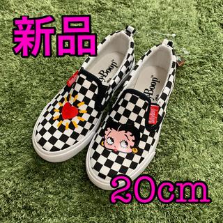 Betty Boop ベティちゃん 20cm スリッポン(スリッポン)