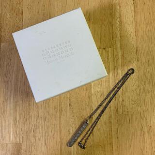 マルタンマルジェラ(Maison Martin Margiela)のmaison margiela カレンダータグ ネックレス(ネックレス)