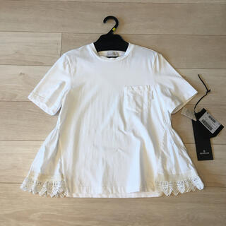 モンクレール(MONCLER)のモンクレールペプラムTシャツ(Tシャツ(半袖/袖なし))