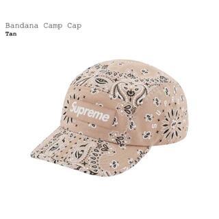 Supreme - Supreme 21SS Bandana Camp Cap Tan