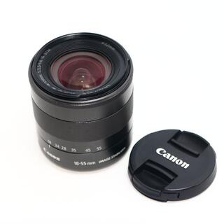Canon - CANON EF-M 18-55mm 3.5-5.6 IS STM ブラック