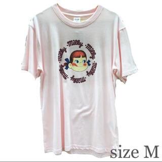 サンリオ(サンリオ)のpecoちゃん ミルキー Tシャツ Mサイズ ユニセックス(Tシャツ/カットソー(半袖/袖なし))