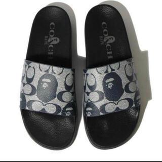 A BATHING APE - Bape X Coach Slide Sandals 28cm