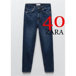 ZARA - 6 ZARA ハイライズスキニーデニムパンツ 40