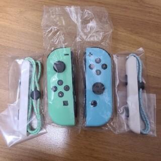 ニンテンドースイッチ(Nintendo Switch)のNintendo Switch あつまれどうぶつの森 joy-conセット(家庭用ゲーム機本体)