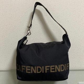 FENDI - 【ジャンク】 フェンディ デカロゴ バッグ ショルダーバッグ ヴィンテージ