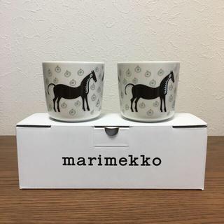 marimekko - 新品未使用 新作 マリメッコ   ムスタタンマ ラテマグ