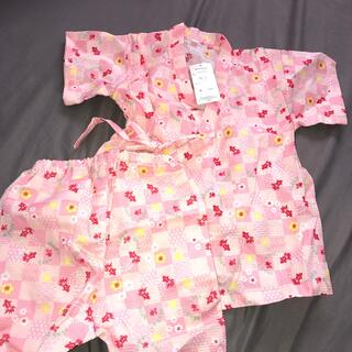 西松屋 - 新品 ベビー 子供服 甚平 浴衣 90サイズ