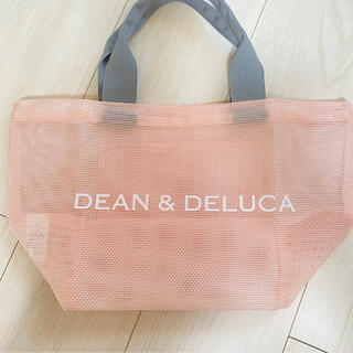DEAN & DELUCA - dean&deluca メッシュトートバッグ ピンクS