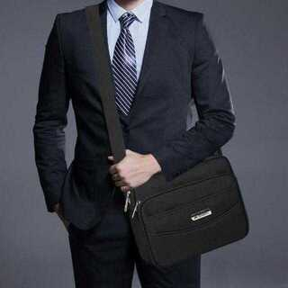 【ブラック】 メンズバッグ ショルダーバッグ メッセンジャーバッグ 防水バッグ