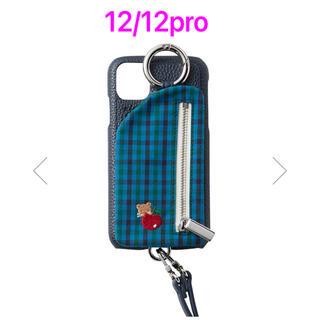 ファミリア(familiar)のファミリア ajew 別注 iPhoneケース 12/12pro対応(iPhoneケース)