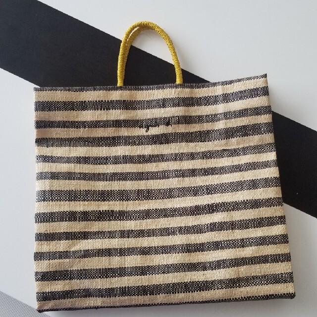 agnes b.(アニエスベー)のアニエスベー ラフィアトートバッグ 今季 レディースのバッグ(かごバッグ/ストローバッグ)の商品写真