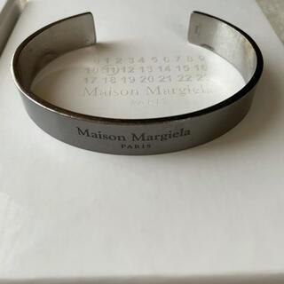 マルタンマルジェラ(Maison Martin Margiela)のマルジェラ カフブレスレット(ブレスレット/バングル)