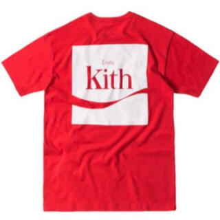 シュプリーム(Supreme)のKITH X COCA COLA ENJOY TEE - RED(Tシャツ/カットソー(半袖/袖なし))