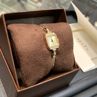 agete - agete腕時計女性の繊細で軽量で豪華なビンテージ細いストラップチェーン