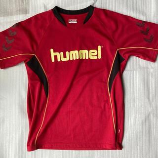 ヒュンメル(hummel)の【美品】【匿名配送】ヒュンメル ドライ素材Tシャツ メンズLサイズ(Tシャツ/カットソー(半袖/袖なし))