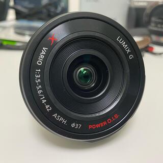 Panasonic - LUMIX G X VARIO PZ 14-42mm+Z-CAP 美品