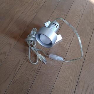 送料無料‼️朝日電器 クリップライト SPOT-MR40C シルバー (天井照明)