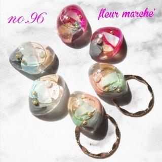 No.96 ファブリック2way ピアス/イヤリング