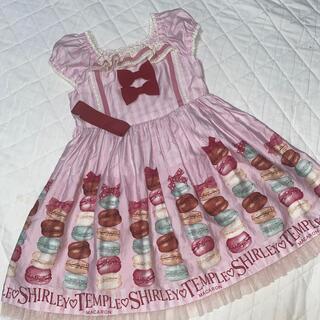 Shirley Temple - シャーリーテンプル  マカロン ワンピース 110