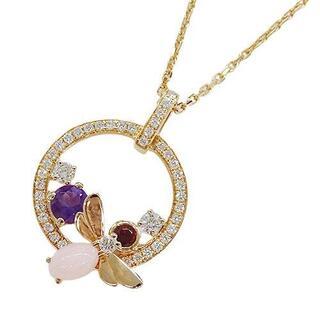 ショーメ(CHAUMET)のショーメ アトラップ モア ダイヤモンド マルチ ビー ハチ ネックレス 750(ネックレス)