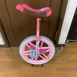 ブリヂストン(BRIDGESTONE)の一輪車 ブリジストン スケアクロウ 18インチ ピンク(自転車)