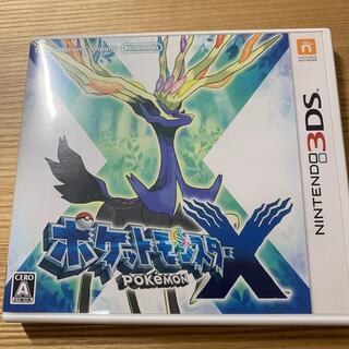 ニンテンドー3DS(ニンテンドー3DS)のポケットモンスター X 3DS(その他)