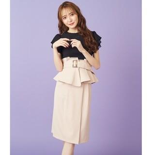 MIIA - MIIA♥️定番コルセットベルト付きタイトスカート