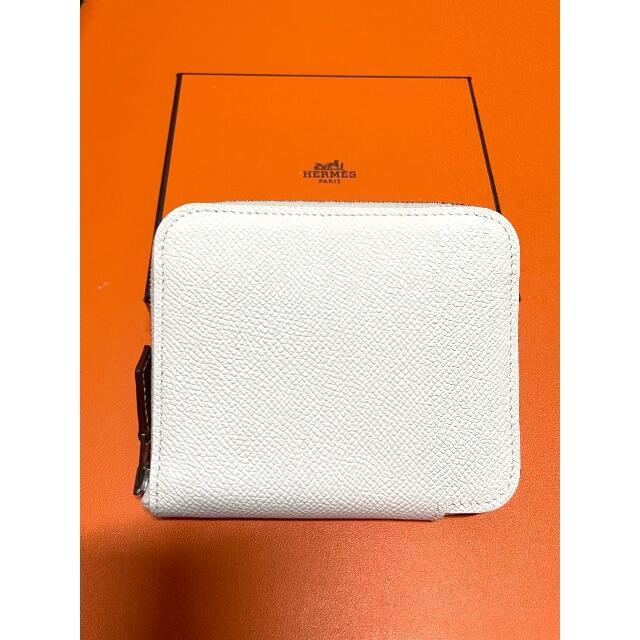 Hermes(エルメス)の新品 エルメス シルクイン コンパクト 財布 HERMES クレ レディースのファッション小物(財布)の商品写真