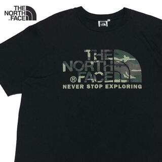 THE NORTH FACE - *4022 the north faceノースフェイス カモフラ  Tシャツ