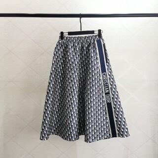 Christian Dior - 膝丈丈のdiorプリントスカート