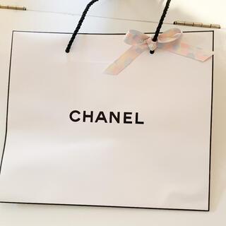 CHANEL - CHANEL ショップ袋 シャネル 限定リボン付き