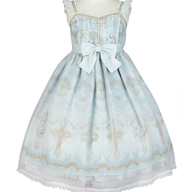 Angelic Pretty(アンジェリックプリティー)のAngelic Pretty Celestialジャンパースカート  レディースのワンピース(ひざ丈ワンピース)の商品写真