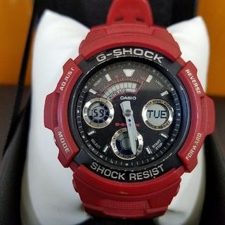 ジーショック(G-SHOCK)のG-shock レア物ミニタリーAW591 電池交換済み(腕時計(デジタル))